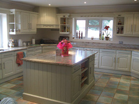 Hand Painted Kitchen Dorset, Hampshire, Wiltshire, Somerset